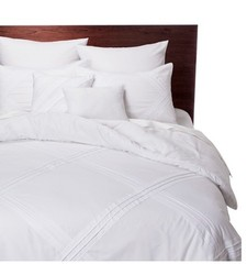Fabiana 8 Piece Comforter Set - White - Size: California King