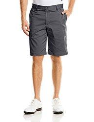 Flat Front Golf Shorts Dark Grey