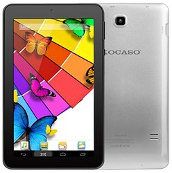 "Kocaso Mx790 7"" Android 5.1 Tablet-quad-core/8GB/dual Camera: Silver"