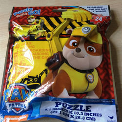 Paw Patrol 24-Piece Puzzle on The Go with Resealable Bag