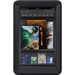 """OtterBox Defender Series Case & Stand for Amazon Kindle Fire 7"""" - Black"""