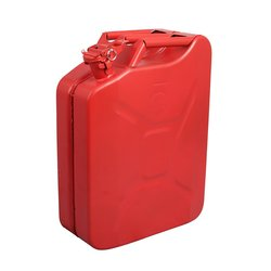 5 Gal.Jerry Can with Nozzle & Spout - Pack of 2 - Red