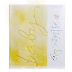 C.R. Gibson Precious Miracle Loose Leaf Baby Memory Book