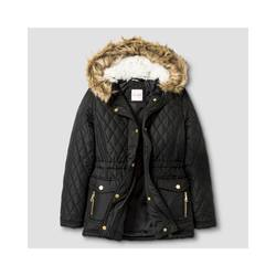Cat & Jack Girl's Anorak Jacket - Black - Size: XL