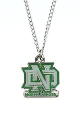NCAA North Dakota Sioux Team Logo Necklace