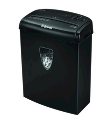 Fellowes Powershred Cross-Cut Paper Shredder - 7 Sheets - Black (M-7C)