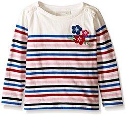 JoJo Maman Bb Kid's Breton Top, Cream, 2-3y US