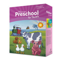 Preschool Horizons for Three's Curriculum Set Aop Alpha Omega Paperback