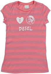 Diesel 'Tindico' T-Shirt (Kids) - Magenta-X-Large