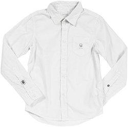 Diesel 'Cozic' Button Front Shirt (Kids) - White-XX-Small