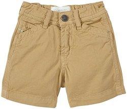 Diesel Baby Boys' Colored Gabardine Shorts (Baby) - Khaki - 12 Months