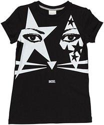 Diesel 'Tonally' T-Shirt (Kids) - Black-Medium