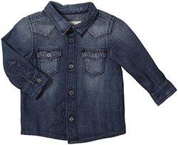 Diesel Cimtob Vintage Denim Shirt (Baby) - Indigo-6 Months