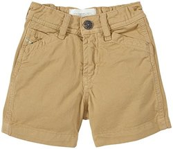Diesel Baby Boys' Colored Gabardine Shorts (Baby) - Khaki - 3 Months
