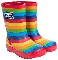 JoJo Maman Bebe Patterned Wellies (Toddler) - Rainbow-3