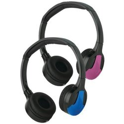Concept Enhanced Dual IR Headphones with 3 Covers - Blue/Pink/Black