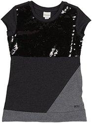 Diesel 'Tevety' Knit Shirt (Kids) - Charcoal Grey-X-Small