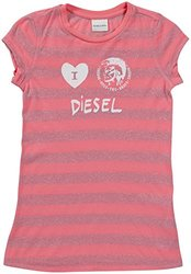 Diesel 'Tindico' T-Shirt (Kids) - Magenta-XX-Small