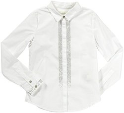 Diesel 'Cipitei' Woven Shirt (Kids) - White-X-Small