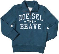 Diesel Sippy Half-Zip Sweat-Shirt (Kid) - Spruce-7