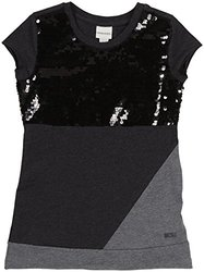 Diesel 'Tevety' Knit Shirt (Kids) - Charcoal Grey-Large