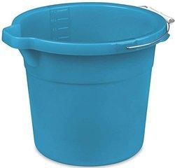 Unique Concepts Sterilite Spout Bucket - Blue - 12 Quart (11234312)