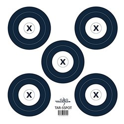 SAS 5-Spot Paper Target 18 in / 45 cm (12)