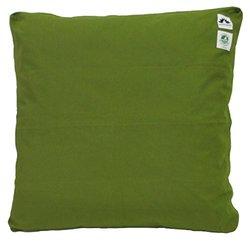 Zabuton Cushion: Kapok-filled, 100% Organic Cotton Meditation Cushion (Green Grass, Medium 24 X 24)