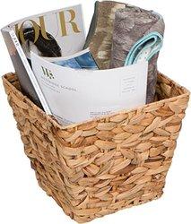 """Trademark Innovations BSKT-WASTE 10"""" Square Hyacinth Waste Basket"""