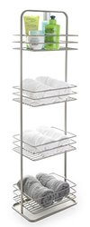 BINO Monaco Rust-Resistant 4-Tier Spa Tower - Nickel