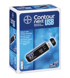 Bayer Contour Next USB Blood Glucose Monitoring System (7411)