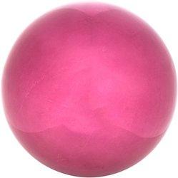 "Trademark Stainless Steel Gazing Mirror Ball - Purple - Size: 10"""