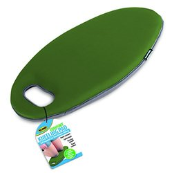 Foam Comfort Cushion Sitting or Kneeling Pad With Carrying Handle Green