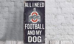 Ncaa Football And My Dog Sign: Washington