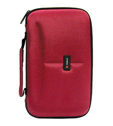 Foray CD/DVD Wallet - 72 Capacity - Red