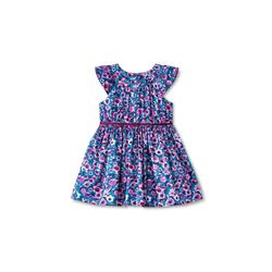 Cherokee Girls Sleeveless Floral Dress - Multi - Size: 3T