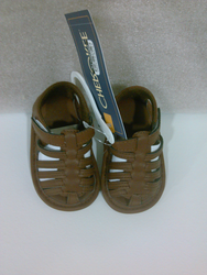 Cherokee Boy's Air Beach Sandals - Warm Chocolate - Size: 0-3 Months
