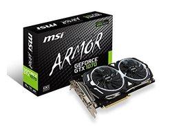 MSI GAMING GeForce GTX 1070 8GB GDDR5 DirectX 12 VR Ready (GeForce GTX 1070 ARMOR 8G OC)