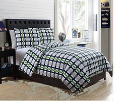 Karalai Bedding Collection - Boys Bed in a Bag - Size: Twin - 5Pc
