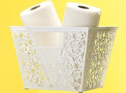 Design Ideas Vinea Storage Nest - White - Large