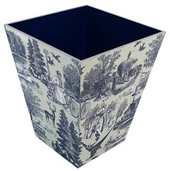 Country Harvest Wooden Waste Bin
