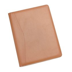 Royce Leather Royce Leather Aristo Padfolio, Matte Tan