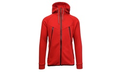Men's Galaxy By Harvic Marled Fleece Hoodie - Red - Size: Large