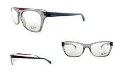 Ray-Ban Optical Frame: Rx5298 5550 Grey/Blue Frame.