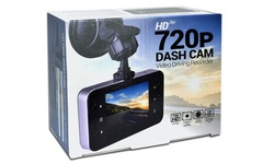 """Automotive 2.4"""" LCD Screen 720p HD Dash Cam with Night Vision"""