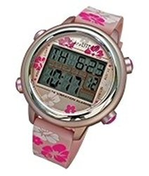 Global Assistive Devices VibraLITE 12 Vibrating Watch with Pink Flowered Band
