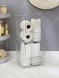 Simplify Stackable Tall Storage Basket