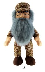 """Duck Dynasty 24"""" Si Character Plush Toy with Sound"""