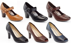 Rasolli Mary Jane Career Shoes: Black/9