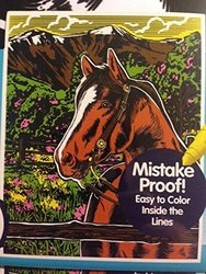 Horse 16 X 20 Color Your Own Jumbo Velvet Poster